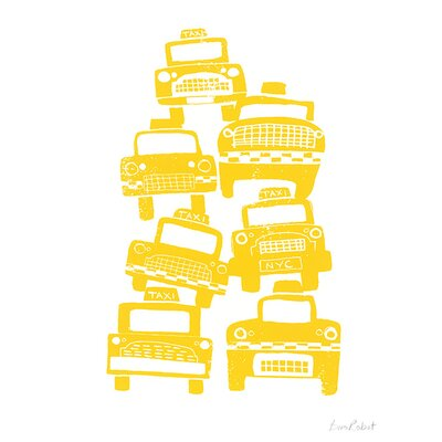 Art Group Cabs by BiroRobot Canvas Wall Art