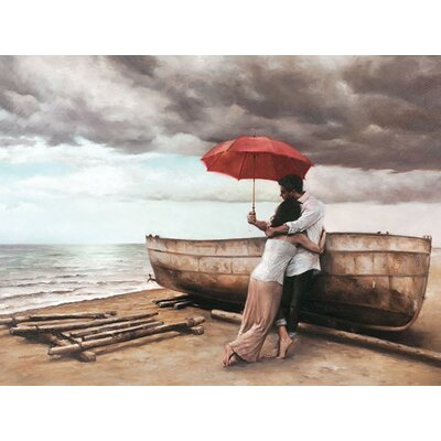Art Group And This Too Shall Pass by Daniel Del Art Print on Canvas