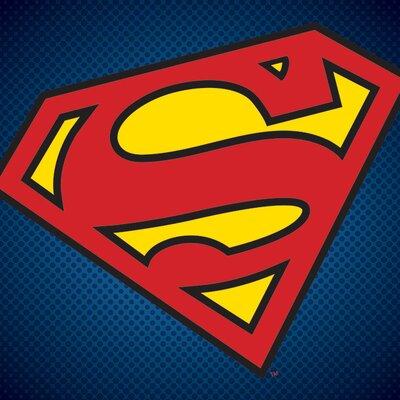 Art Group DC Comics Superman Symbol Canvas Wall Art
