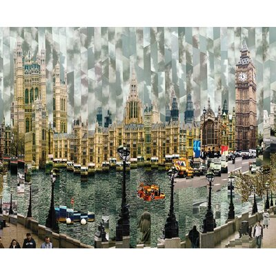 Art Group Londres II by Serge Mendjisky Graphic Art on Canvas