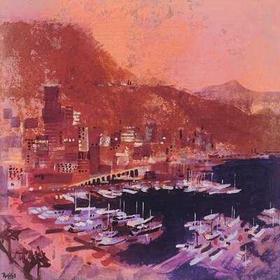 Art Group Monte Carlo by Colin Ruffell Art Print on Canvas