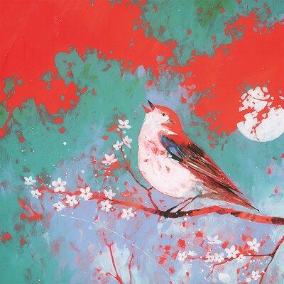 Art Group Bird Song by Carolyn Carter Canvas Wall Art