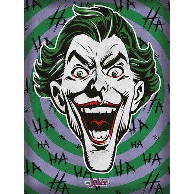 Art Group The Joker - Hahaha Canvas Wall Art