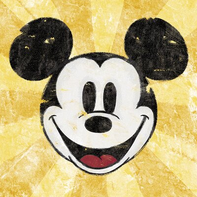 Art Group Mickey Mouse, Squeaky ChicVintage Advertisement Canvas Wall Art