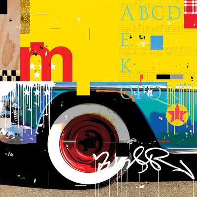 Art Group Wheel by Mark Andrew Allen Graphic Art on Canvas