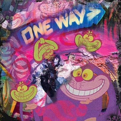 Art Group The Cheshire Cat - Graffiti Graphic Art on Canvas