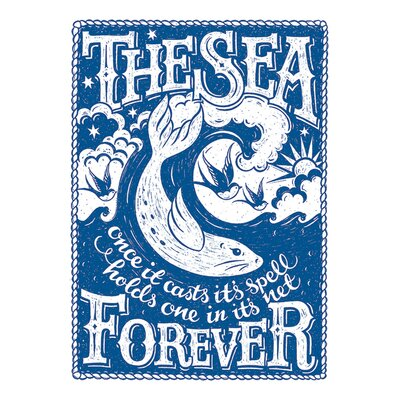 Art Group Snowdon Designs The Sea Forever Canvas Wall Art