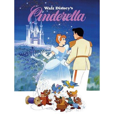 Art Group Cinderella Vintage Advertisement on Canvas
