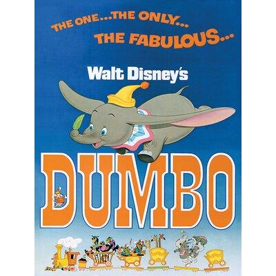Art Group Dumbo The Fabulous Vintage Advertisement Canvas Wall Art
