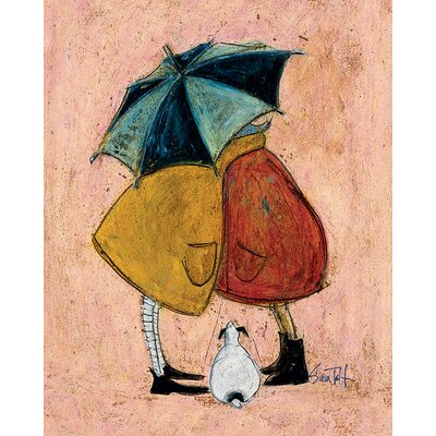 Art Group A Sneaky One by Sam Toft Canvas Wall Art