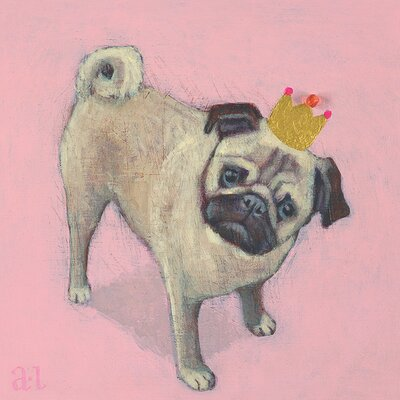Art Group Little King by Andrea Letterie Canvas Wall Art