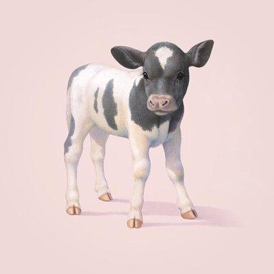 Art Group Cow Canvas by John Butler Canvas Wall Art