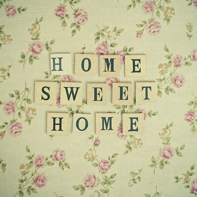 Art Group Home Sweet Home by Cassia Beck Typography Canvas Wall Art