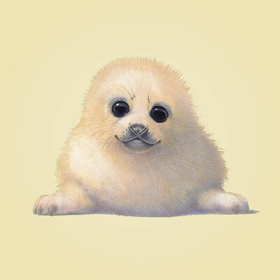 Art Group Seal by John Butler Graphic Art on Canvas