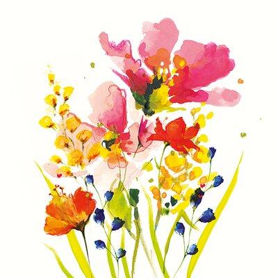 Art Group Summer Bouquet by Nicola Evans Canvas Wall Art
