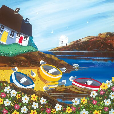 Art Group Nikky Corker, Beach Party Canvas Wall Art