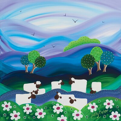 Art Group Nikky Corker, Into the Distance Canvas Wall Art