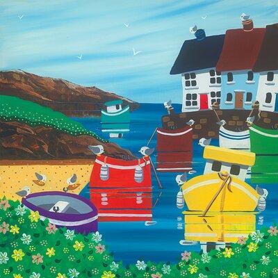 Art Group Nikky Corker, Lazy Sunny Days Canvas Wall Art
