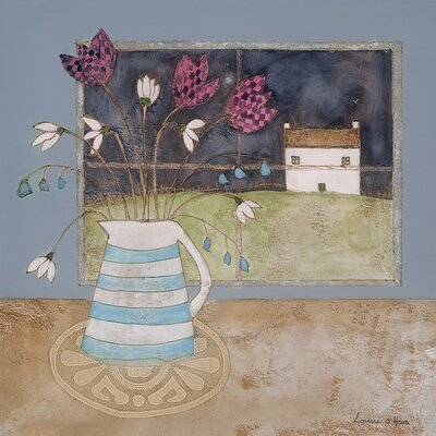 Art Group A Full Moon in Spring by Louise O'Hara Canvas Wall Art