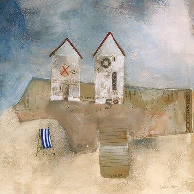 Art Group The Deck Chair by Louise O'Hara Canvas Wall Art