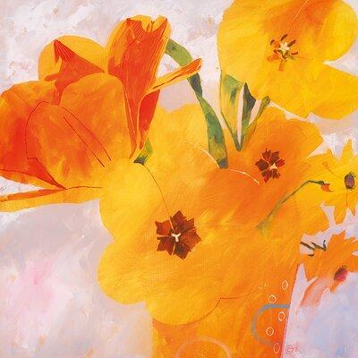 Art Group Tulip Glory by Carolyn Carter Art Print on Canvas