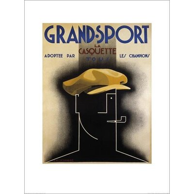 Art Group Grand Sport 1925 by A.M.Cassandre Poster Vintage Advertisement