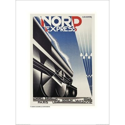 Art Group Nord Express by A.M.Cassandre Vintage Advertisement