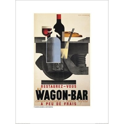 Art Group Wagon Bar by A.M.Cassandre Poster Vintage Advertisement