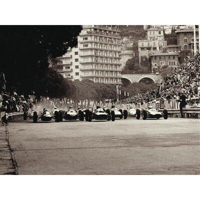 Art Group Monaco Grand Prix, 1962 by Jesse Alexander Canvas Wall Art