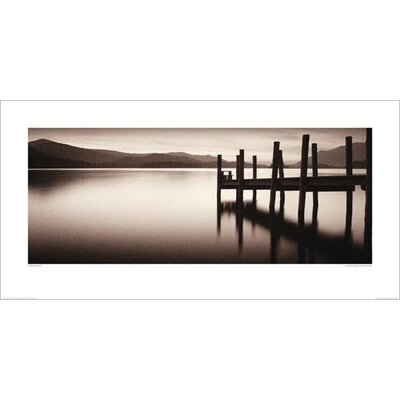 Art Group Landing Stage, Derwent Water by Mike Shepherd Photographic Print