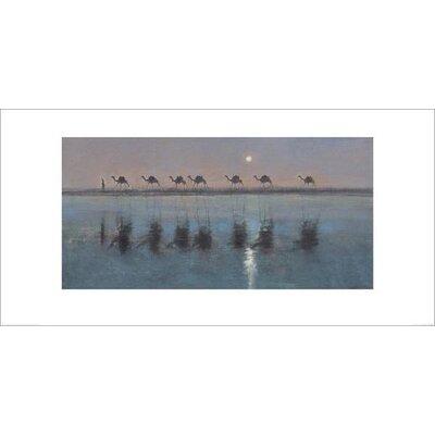 Art Group Jade Sea Reflections by Jonathan Sanders Art Print