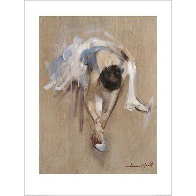 Art Group Easing Her Toes by Harriet Salt Art Print