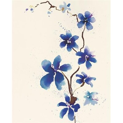 Art Group Oriental Blossom by Summer Thornton Art Print on Canvas