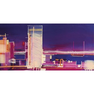 Art Group City Nocturne by Christopher Farrell Canvas Wall Art