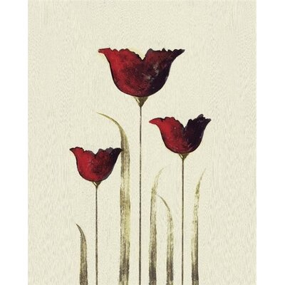 Art Group Tulips III by Nicola Evans Canvas Wall Art