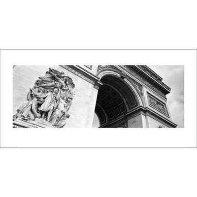 Art Group Arc de Triomphe Paris by Amy Gibbings Photographic Print