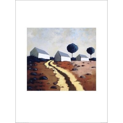 Art Group Hillside Path by Derek Melville Art Print