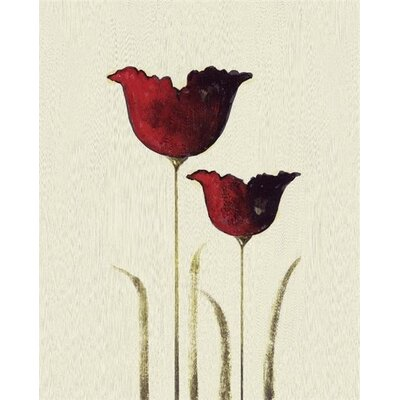 Art Group Tulips II by Nicola Evans Canvas Wall Art