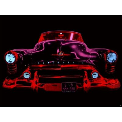 Art Group Auto N»on I by Didier Mignot Canvas Wall Art