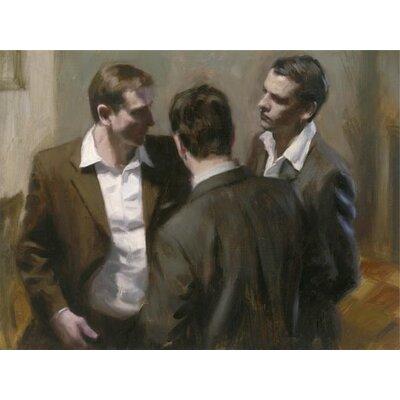Art Group Revelations III by Aldo Balding Canvas Wall Art