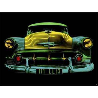 Art Group Auto N»on II by Didier Mignot Graphic Art on Canvas