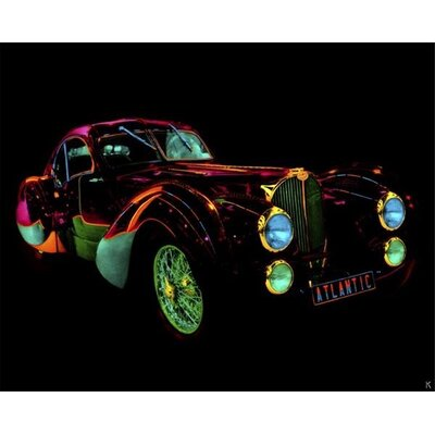Art Group Auto Neon III by Didier Mignot Canvas Wall Art
