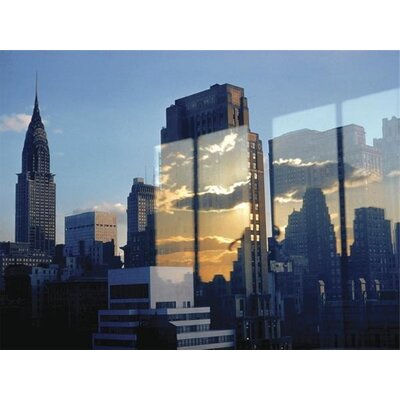 Art Group Skyline, New York, 1957 by Ernst Haas Canvas Wall Art