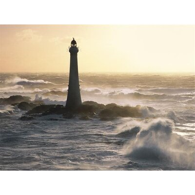Art Group Phare De Skerryvore, Scotland by Jean Guichard Photographic Print on Canvas