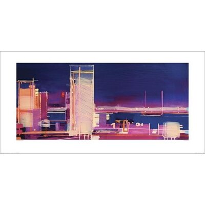 Art Group City Nocturne by Christopher Farrell Art Print