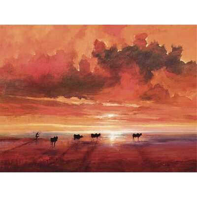 Art Group Shores of the Jade Sea by Jonathan Sanders Canvas Wall Art