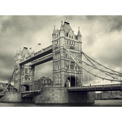 Art Group Tower Bridge by James Lazos Photographic Print on Canvas