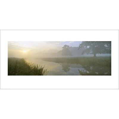 Art Group River Aln Dawn by Lee Frost Photographic Print