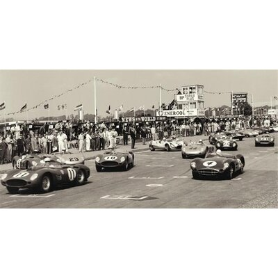 "Art Group Tourist Trophy ""TT"", Goodwood, 1959 by Jesse Alexander Photographic Print on Canvas"
