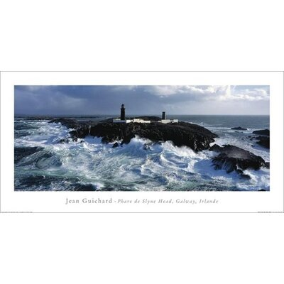 Art Group Phare De Slyne Head, Galway, Irlande by Jean Guichard Photographic Print
